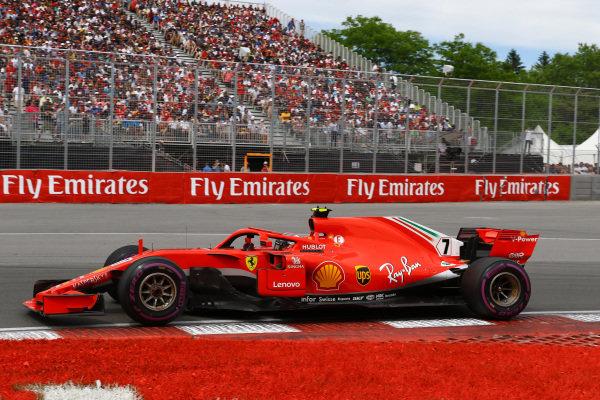 Kimi Raikkonen (FIN) Ferrari SF-71H .
