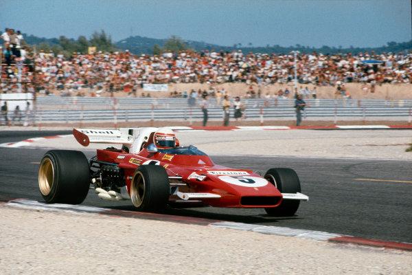 Paul Ricard, Le Castellet, France. 2-4th July 1971.  Clay Regazzoni, Ferrari 312B2.  Ref: 71FRA66. World Copyright: LAT Photographic