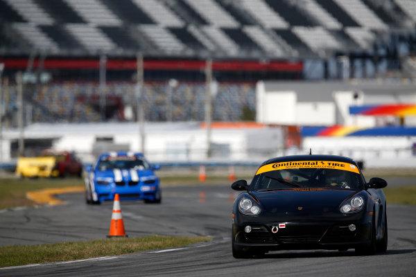 3-5 January, 2014, Daytona Beach, Florida, USA #88, Porsche, Cayman, Jim Jonsin © 2014, Michael L. Levitt LAT Photo USA