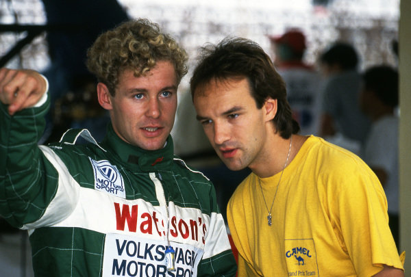Tom Kristensen (DEN) Ralt-Volkswagen at Macau Formula Three Grand Prix, Macau, Hong Kong, 24 November 1991.