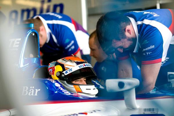 FIA Formula E Second Pre-Season Testing Event. Robin Frijns, MS Amlin Andrettti, Spark-Andretti. Donington Park Racecourse, Derby, United Kingdom. Wednesday 7 September 2016. Photo: Adam Warner / LAT ref: Digital Image _L5R3105