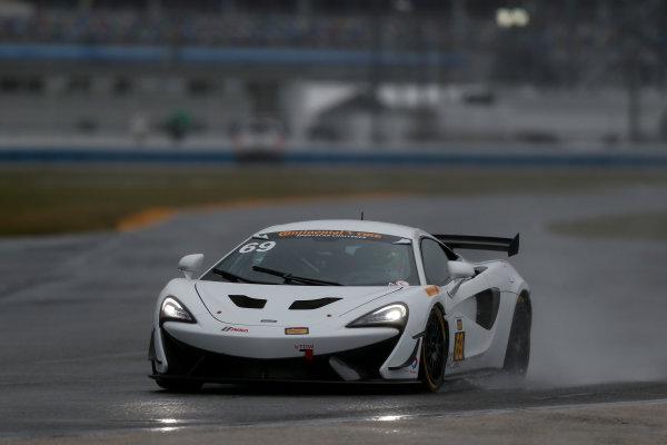 5-8 January, 2017, Daytona Beach, Florida USA 69, McLaren, McLaren GT4, GS, Chris Green ?2017, Jake Galstad LAT Photo USA