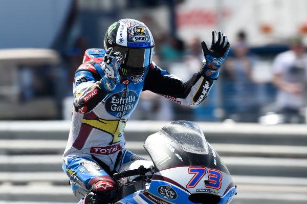 2017 MotoGP Championship - Round 4 Jerez, Spain Sunday 7 May 2017 Race winner Alex Marquez, Marc VDS World Copyright: Gold & Goose Photography/LAT Images ref: Digital Image 16193