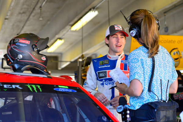 2017 Monster Energy NASCAR Cup Series O'Reilly Auto Parts 500 Texas Motor Speedway, Fort Worth, TX USA Friday 7 April 2017 Ryan Blaney World Copyright: Logan Whitton/LAT Images ref: Digital Image 17TEX1LW0090