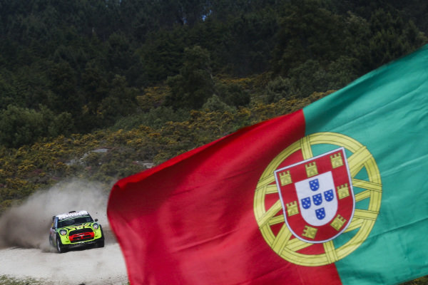 Valeriy Gorban (UKR) / Sergey Larens (EST), Eurolamp World Rally Team Mini John Cooper Works WRC at World Rally Championship, Rd6, Rally Portugal, Day One, Matosinhos, Portugal, 19 May 2017.