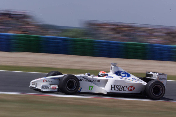 FRENCH GRAND PRIX. 25th June 1999. MAGNY-COURS, FRANCE JOHNNY HERBERT. STEWART SF3 World - COATES/LAT Photographic