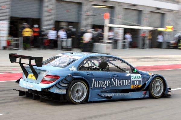 Jamie Green (GBR), Junge Sterne AMG Mercedes C-Klasse (2008).DTM, Rd3, Eurospeedway Lausitz, Germany, 4-6 June 2010.World Copyright: LAT Photographicref: Digital Image dne1006ju03