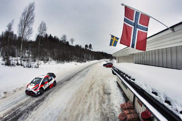 Jari-Matti Latvala (FIN) / Miikka Anttila (FIN), Toyota Gazoo Racing Toyota Yaris WRC at World Rally Championship, Rd2, Rally Sweden, Day One, Karlstad, Sweden, 10 February 2017.
