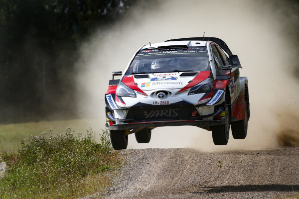 Ott Tanak was the fastest man throughout Rally Finland
