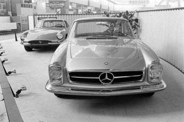 Pininfarina Mercedes-Benz 230SL Coupe one-off.