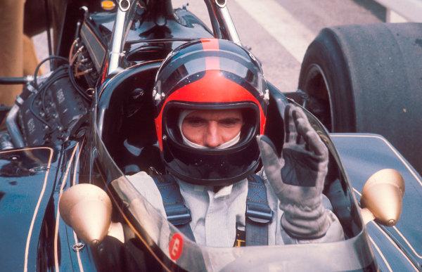 1972 German Grand Prix.Nurburgring, Germany.28-30 July 1972.Emerson Fittipaldi (Team Lotus).Ref-72 GER 01.World Copyright - LAT Photographic