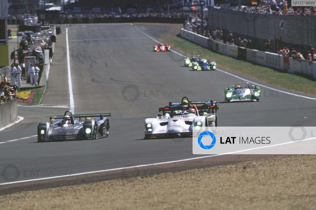 2000 Le Mans 24 Hours.