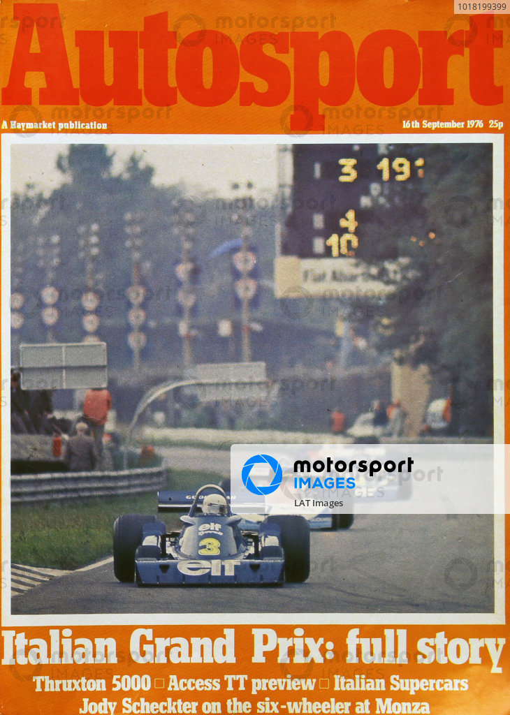 Autosport Covers 1976