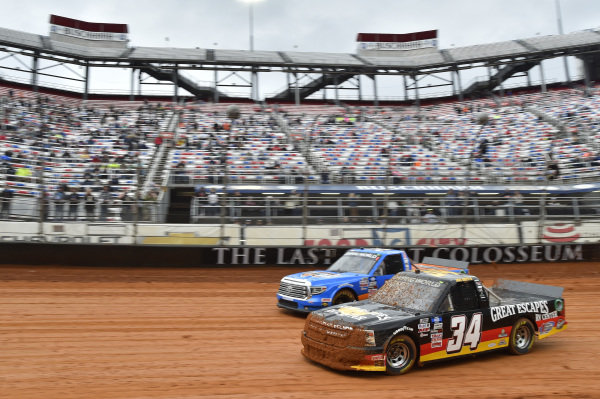 #34: Jake Griffin, Reaume Brothers Racing, Toyota Tundra Great Escapes RV Center