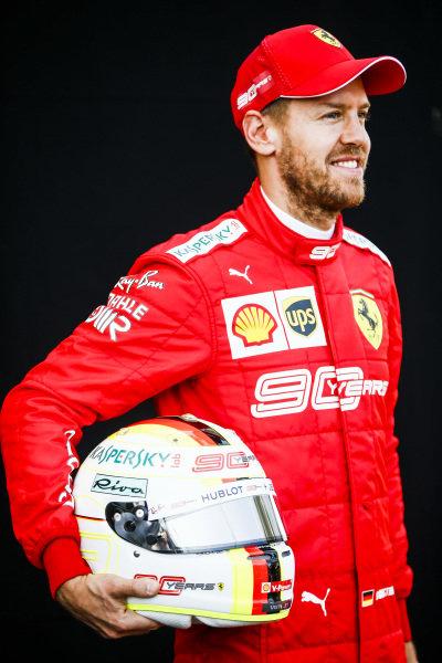 Official Portrait of Sebastian Vettel, Ferrari
