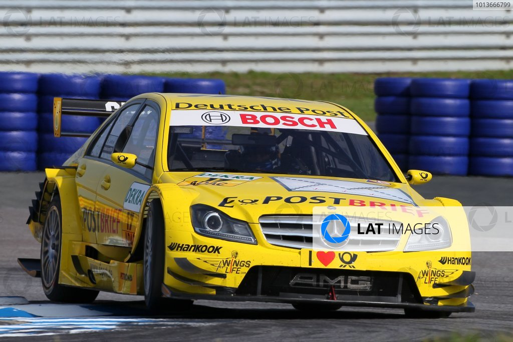 David Coulthard (GBR), Deutsche Post AMG Mercedes C-Klasse (2008).