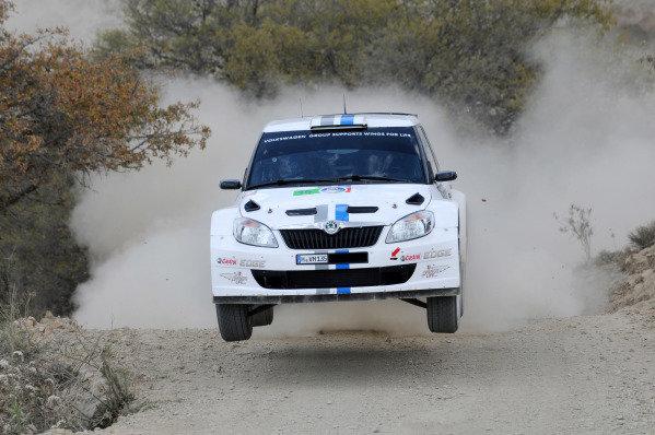 Sebastien Ogier (FRA) and Julien Ingrassia (FRA), Skoda S2000.FIA World Rally Championship, Rd3, Rally Guanajuato Mexico, Leon, Mexico, Day One, Friday 9 March 2012.