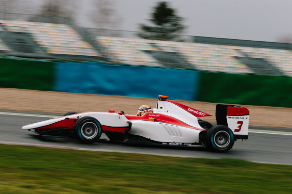 2016 GP3 Series Shakedown. Magny Cours, France. Thursday 3 March 2016  Charles Leclerc (MON) ART Grand Prix   World Copyright: Malcolm Griffiths/LAT Photographic. ref: Digital Image F80P9789