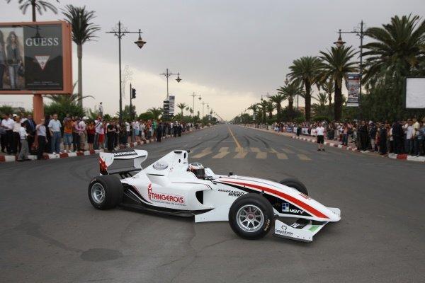 Will Bratt (GBR) FIA Formula Two Championship, Rd2,  Marrakech, Morocco. Thursday 29 April 2010