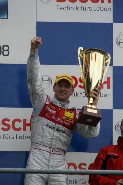 Alexandre Premat (FRA) Audi Sport Team Phoenix  Audi Bank / Shell Helix Audi A4 DTM (2007), finished third.DTM, Rd10, Le Mans Bugatti Circuit, Le Mans, France, 3-5 October 2008.