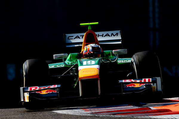 Pierre Gasly (FRA) EQ8 Caterham Racing. GP2 Series, Rd11, Yas Marina Circuit, Abu Dhabi, UAE, 21-23 November 2014.