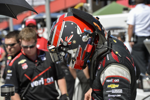 Will Power (AUS) Team Penske.