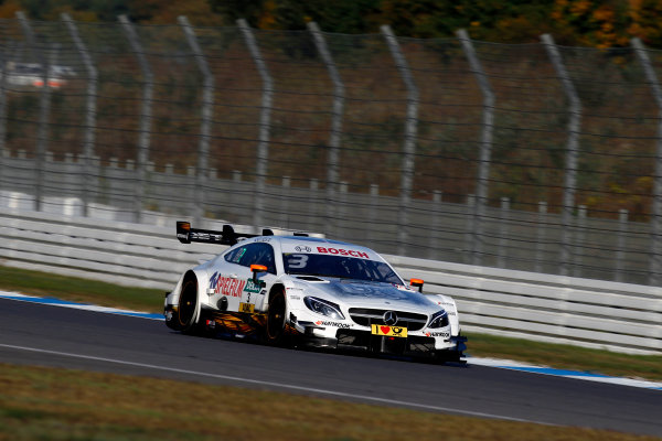 2017 DTM Round 9  Hockenheimring, Germany  Sunday 15 October 2017. Paul Di Resta, Mercedes-AMG Team HWA, Mercedes-AMG C63 DTM  World Copyright: Alexander Trienitz/LAT Images ref: Digital Image 2017-DTM-HH2-AT3-1938