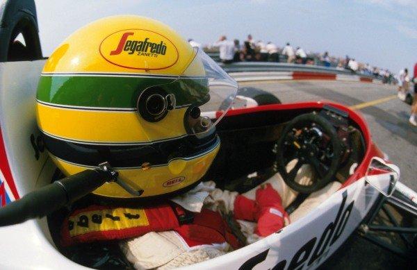 Ayrton Senna(BRA), Toleman TG184, DNF Austrian GP, Osterreichring, 19 August 1984