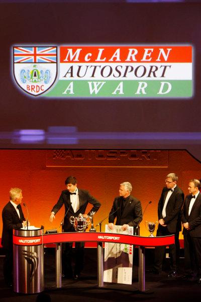 Sunday 2nd December 2012  2012 McLaren Autosport BRDC Young Driver of the Year Award winner Jake Dennis. World Copyright:Glenn Dunbar/  ref: Digital Image _G7C6273
