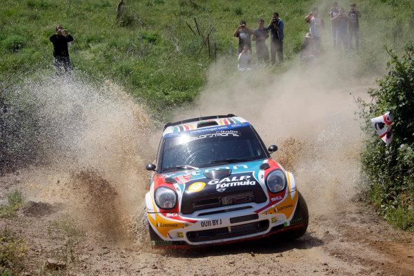 Round 05-Rally Italia Sardegna. 05th-08th May 2011.Armido Araujo, Mini WRC, Action.Worldwide Copyright: McKlein/LAT