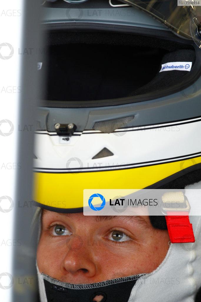 Silverstone, Northamptonshire, England8th July 2011Nico Rosberg, Mercedes GP W02. Portrait. Helmets. World Copyright:Charles Coates/LAT Photographicref: Digital Image _W7C8836