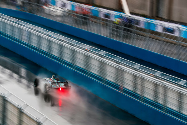 2016/2017 FIA Formula E Championship. Round 9 - New York City ePrix, Brooklyn, New York, USA. Friday 14 July 2017. Mitch Evans (NZL), Jaguar Racing, Spark-Jaguar, Jaguar I-Type 1. Photo: Sam Bloxham/LAT/Formula E ref: Digital Image _J6I2845