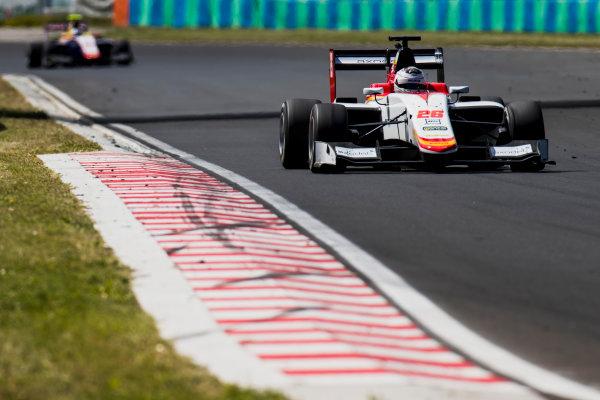 2017 GP3 Series Test 4.  Hungaroring, Budapest, Hungary. Wednesday 7 June 2017. Julien Falchero (FRA, Campos Racing)  Photo: Zak Mauger/GP3 Series Media Service. ref: Digital Image _56I2157