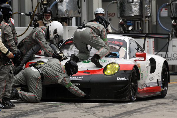 2017 World Endurance Championship, Nurburgring, Germany. 14th-16th July 2017 #91 Porsche GT Team Porsche 911 RSR: Richard Lietz, Frederic Makowiecki  World copyright. JEP/LAT Images