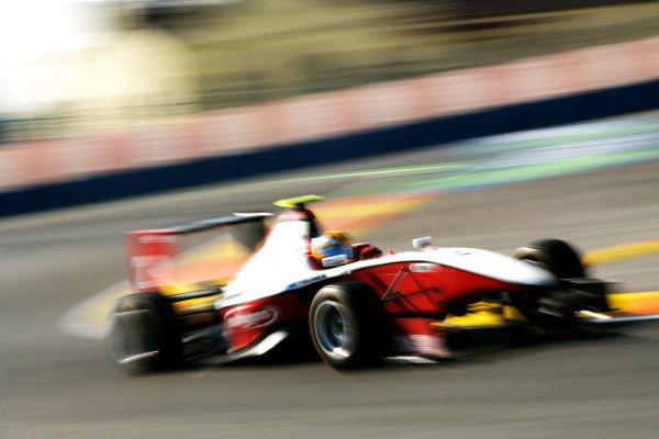 Round 3. Valencia, Spain. 27th June 2010.Sunday Race.Esteban Gutierrez, (MEX, ART Grand Prix). Action. World Copyright: Drew Gibson/GP3 Media Service.Digital Image _Y8P8990