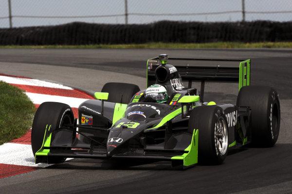 EJ Viso (VEN), HVM Racing.IndyCar Series, Rd13, Honda Indy 200, Mid Ohio Sports Car Course, Lexington, OH, USA. 7-9 August 2009.