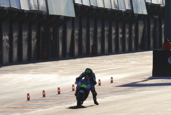 2017 MotoGP Championship - Valencia test, Spain. Tuesday 14 November 2017 Cal Crutchlow, Team LCR Honda World Copyright: Gold and Goose / LAT Images ref: Digital Image MotoGP2017-ValenciaTest-Day1-1328