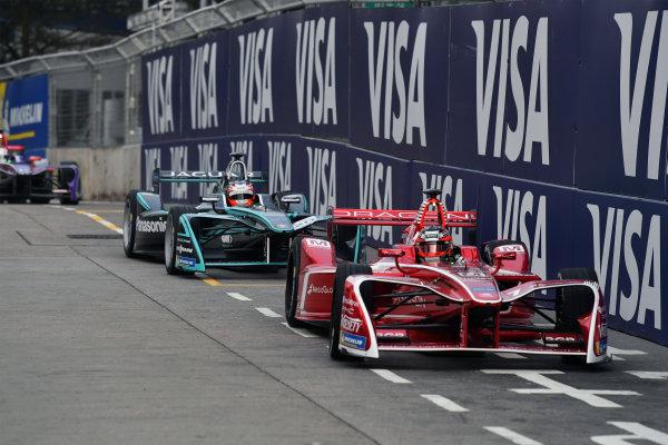 2017/2018 FIA Formula E Championship. Round 1 - Hong Kong, China. Saturday 02 December 2018. Jerome D'Ambrosio (BEL), Dragon, Penske EV-2. Photo: Mark Sutton/LAT/Formula E ref: Digital Image DSC_8384