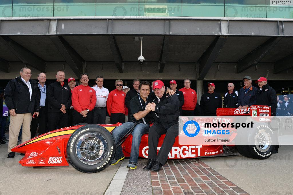 Alex Zanardi (ITA) and Chip Ganassi (USA).IndyCar World Series, Rd5, Indianapolis 500, Indianapolis Motor Speedway, Indianapolis, USA, 24 May 2013.