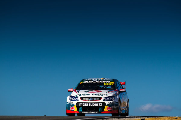 2017 Supercars Championship Round 4.  Perth SuperSprint, Barbagallo Raceway, Western Australia, Australia. Friday May 5th to Sunday May 7th 2017. Craig Lowndes drives the #888 TeamVortex Holden Commodore VF. World Copyright: Daniel Kalisz/LAT Images Ref: Digital Image 050517_VASCR4_DKIMG_1358.JPG