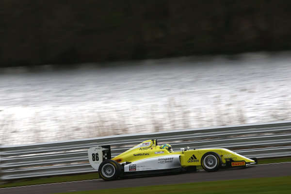 2017 BRDC British F3 Championship, Oulton Park, Cheshire. 15th - 187th April 2017. Jordan Cane (GBR) Hillspeed with Cliff Dempsey Racing BRDC F3. World Copyright: JEP/LAT Images.