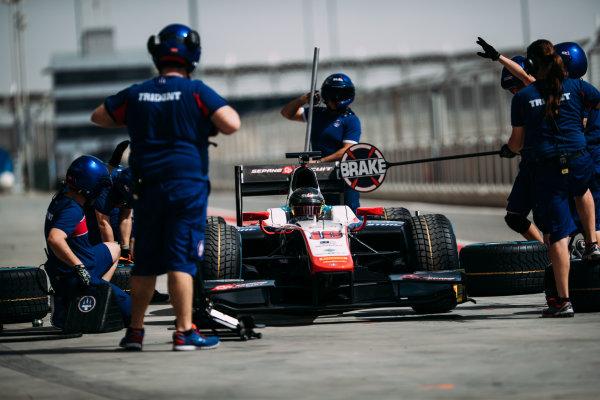 Bahrain International Circuit, Sakhir, Bahrain. Wednesday 29 March 2017 Nabil Jeffri (MAS) Trident  Photo: Malcolm Griffiths/FIA Formpula 2 ref: Digital Image MALC4746 2