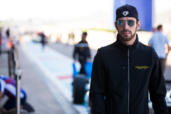 2016/2017 FIA Formula E Championship. Marrakesh ePrix, Circuit International Automobile Moulay El Hassan, Marrakesh, Morocco. Friday 11 November 2016. Jean-Eric Vergne (FRA), Techeetah, Spark-Renault, Renault Z.E 16.  Photo: Sam Bloxham/LAT/Formula E ref: Digital Image _SBB6247