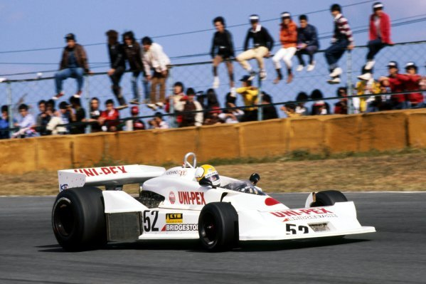 Kazuyoshi Hoshino (JPN) Heros Racing Corporation Uni-Pex Kojima KE009 finished eleventh in his second and final GP appearance.