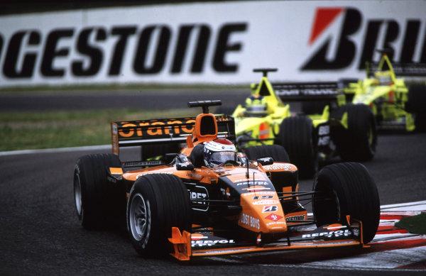 Suzuka, Japan.6-8 October 2000.Jos Verstappen (Arrows A21 Supertec).World copyright - LAT Photographic