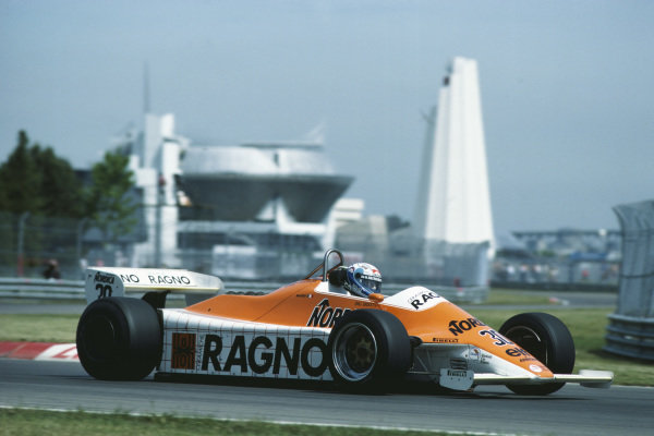 1982 Canadian Grand Prix  Montreal, Quebec, Canada. 11-13 June 1982.  Mauro Baldi, Arrows A4 Ford, 8th position.  Ref: 82CAN02. World copyright: LAT Photographic