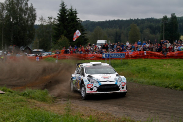 Round 08-Neste Rally Finland 1/8-4/8 2012.Karl Kruuda, Ford S2000, Action.Worldwide Copyright: McKlein/LAT