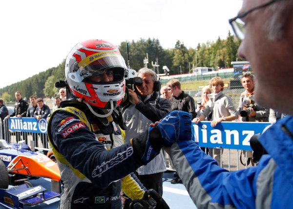 2014 GP2 Series Round 8. Spa-Francorchamps, Spa, Belgium. Sunday 24 August 2014. Felipe Nasr (BRA, Carlin)  Photo: Jed Leicester/GP2 Series Media Service. ref: Digital Image _JED9130