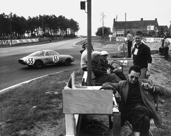 Le Mans, France. 15th - 16th June 1963 Claude Bobrowski/Jean-Pierre Beltoise (Rene Bonnet AŽrodjet LM6 Renault), 11th position, action. World Copyright: LAT Photographic Ref:  Autocar Used Pic 21st June 1963 Pg 1075.