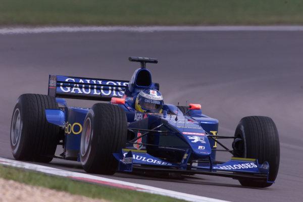 2000 European Grand Prix.Nurburgring, Germany. 19-21 May 2000.Nick Heidfeld (Sauber C19 Petronas).World Copyright - LAT Photographic